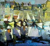 Schilderijen Landschappen Impressionisme John Frel Kunstschilder Amersfoort