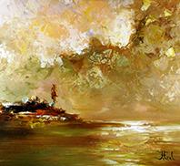 John Frel Impressionistische schilderijen