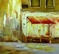Schilderijen steden Impressionisme John Frel Kunstschilder Amersfoort