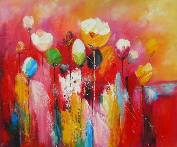 Kleurige bloemen