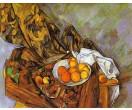 Gordijn en fruit