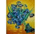 Irissen op vaas