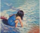 Kind aan het water