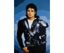 Michael Jackson staand