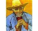 Portret oude boer