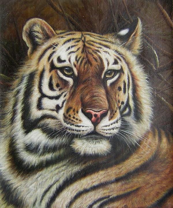 schilderij tijger